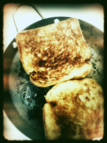 Grilled toast