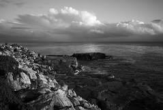 some nice light (nocklebeast) Tags: ocean santa cloud clouds rocks cloudporn westcliff nrd sanjoseskate leicaelmarit28mmf28asph scphoto bo2010 somenicelightl2031713