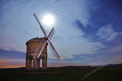 Turning Night Into Day At Chesterton Windmill (JRT ) Tags: longexposure wallpaper sky building windmill night clouds stars nikon warwickshire m40 d90 chestertonwindmill tripleniceshot johnwarwood 4timesasnice 5timesasnice flickrjrt