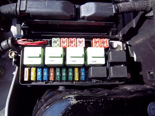 engine wont start north american motoring Mini Cooper Heater Box mini cooper engine compartment fuse box