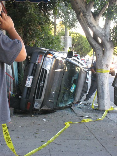 Car Wreck 11-30-10 at Main and Horizon