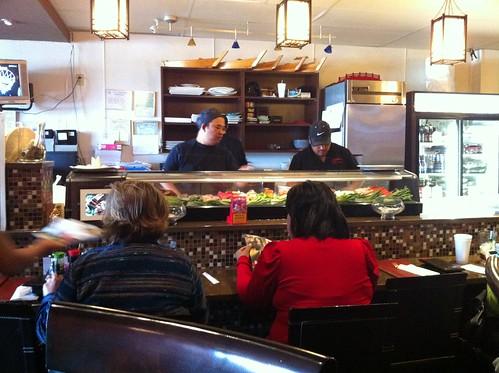 Inside Osaka Japanese Restaurant, Cordova, Tenn.