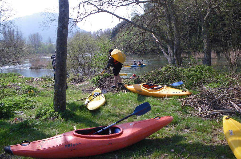 Descenso del Río Arakil en kayak 001