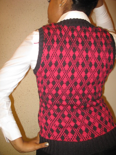 NaKniSweMo Sweater Done - Back