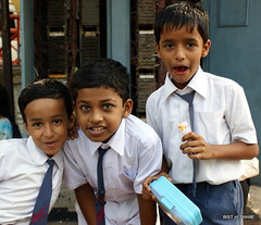 Childhood = Exuberance (Raju Bist) Tags: boys childhood bandra exuberance schoolboys bandrawest