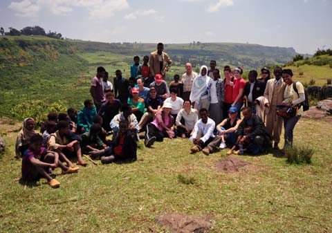 Ethiopia with group