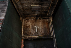 x (Isaac Cordal) Tags: sculpture streetart london hackney dalston cementeclipses