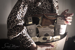 GODIVA  Girl    (SaRa Meow  .. / @sosoMeow) Tags: brown love coffee dark gold yummy sara basket desert sweet chocolate tiger mug meow godiva