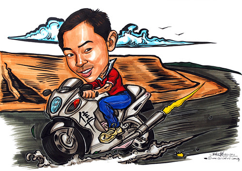 caricature on Hayabusa
