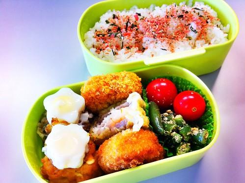 今日のお弁当 No.66 – 鮭