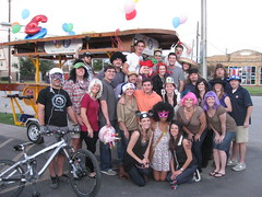 Kristen's Huge Pedal Party feat. Matthew's 30th Birthday! (pedalparty) Tags: party bike bar texas houston pedal beerbike beerbar pedalpowered bikebar pedalparty pedalbar