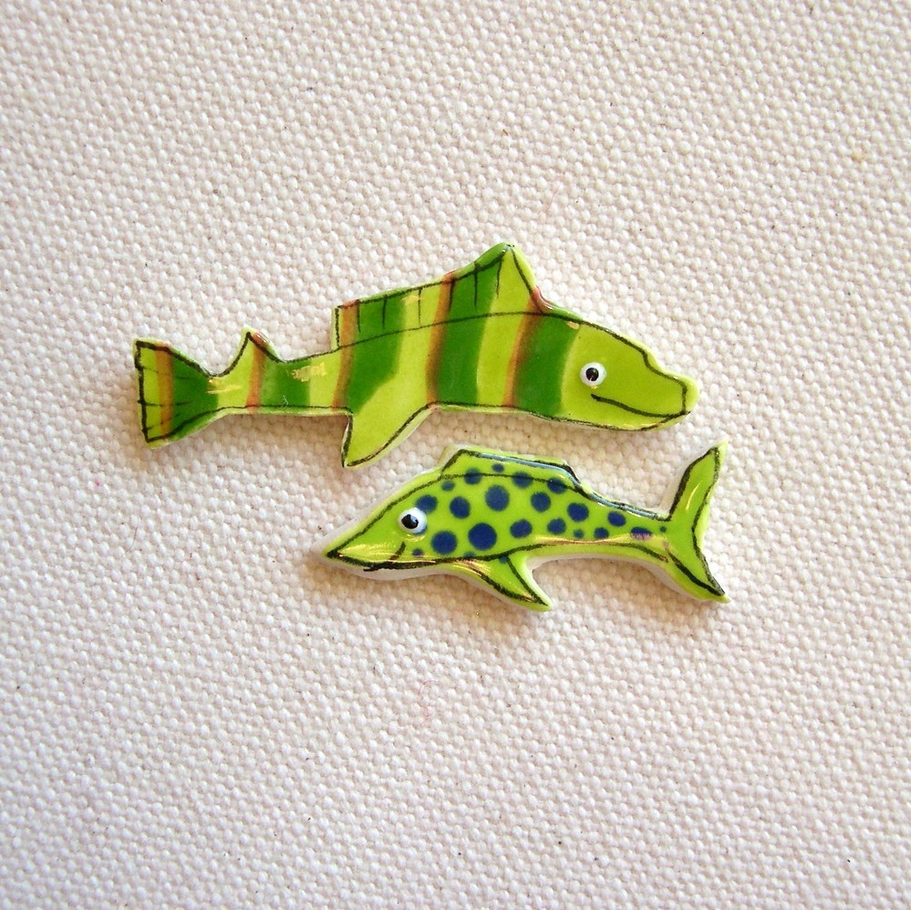 Decorative Ceramic Tile Fish