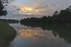 Sky Art #2 (Purple_man) Tags: sunset lake nature landscape nikon photos stock reservoir cp macritchie cheah purpleman d7000
