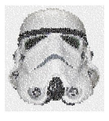 Stormtrooper (tind) Tags: typography star starwars galaxy stormtrooper wars typo tind
