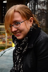 You're Kinda Funny (nmp.hotography) Tags: autumn shadow portrait people fall girl face laughing portraits season fun happy virginia model nikon friend funny sitting photographer shadows seasons faces bokeh smooth richmond selftaught va sit laugh laughter seated silky peoplewatching rva allpeople peoplesitting bokehgalore peoplewatchingpeople shadowsandfaces bokehsilkyandsmooth d3100 nikond3100