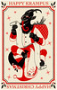 Krampus Card 2010 (corleyms) Tags: santa christmas card 2010 krampus