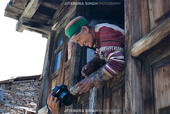 Old Lady in Traditional Kinnauri Dress, Kalpa, himachal Pradesh, India (Jitendra Singh : Indian Travel Photographer) Tags: travel woodenhouse traditionaldress travelphotography jitendra jitendrasingh indiaphoto bestphotojournalist indiantravel wwwjitenscom gettyphotographer bestindianphotographers wwwindiantravelphotographercom kinnaurhimachalpradeshindiain famousindianphotographer famousindianphotojournalist gettyindianphotographer