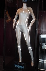 Tron Legacy Siren Gem movie costume (jasoninhollywood) Tags: costumes disney scifi tron siren gem moviecostume beaugarrett disneymovies lightsuit tronlegacy