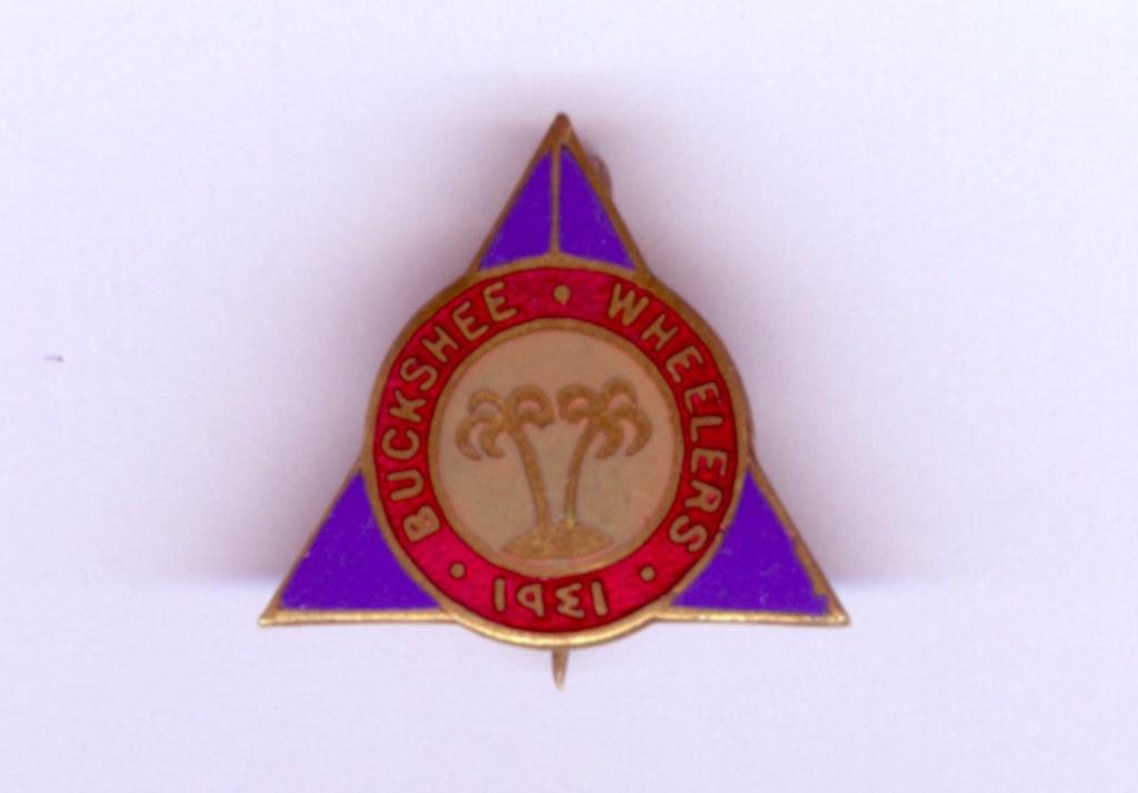 Buckshee Wheelers Cycling Club Badge