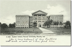 Eastern Indiana Normal University, Muncie, Indiana. (Hoosier Recollections) Tags: usa history buildings indiana schools muncie delawarecounty hoosierrecollections
