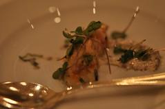 Seafood amuse-bouche