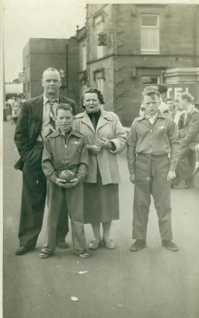 Mr and Mrs Buddo 1950
