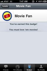 TV/Movie Check-in Apps