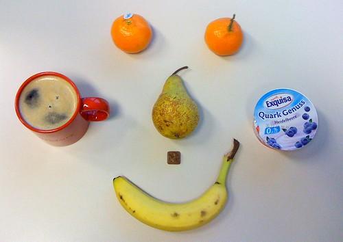 Clementinen, Birne, Banane & Quark Genuss