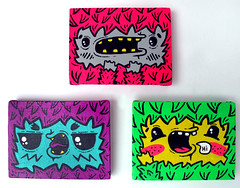 CLOSEUP7 (-ROCHIO-) Tags: colors paintings mini colores canvas characters monsters monstruos cuadros designers rochio leinzo