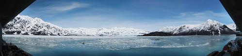 Hubbard Glacier, Yukatat Bay 180 Panoramic