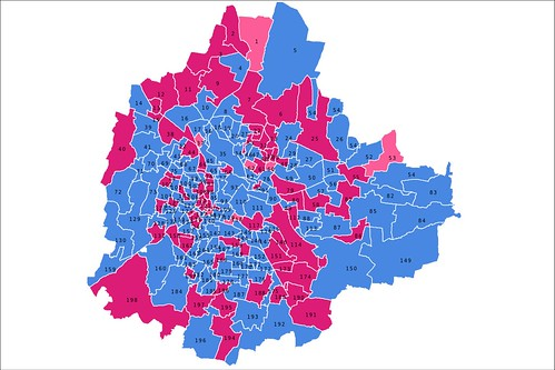 BBMP Bangalore 2010 Elections - Male/Female/Female(Res)