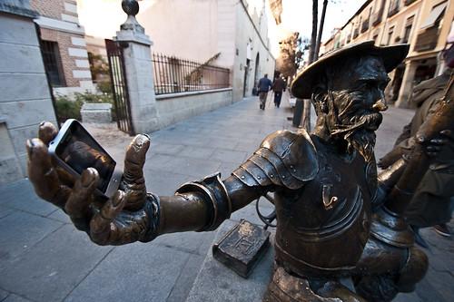 109/365 Si Cervantes hubiese twieteado #concursopepemad