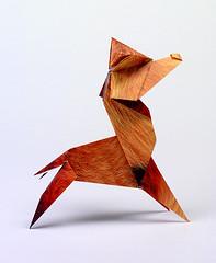 Origami création - Didier Boursin - Renard