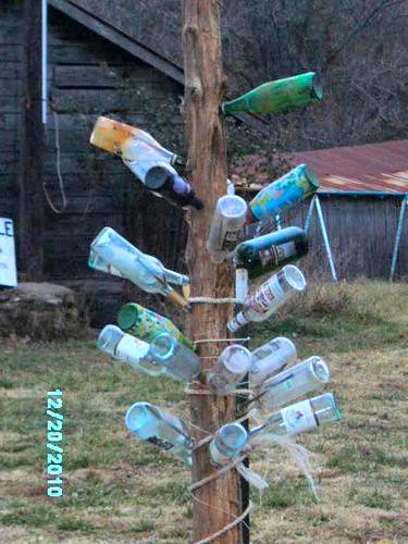 Bigger, better, bottle-tree
