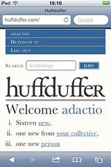 Huffduffer on iOS