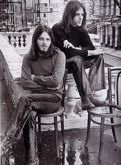 David Gilmour & Richard Wright in London (grce) Tags: musician music london rock pinkfloyd 1970s richardwright progressiverock davidgilmour psychedelicrock englishrockband