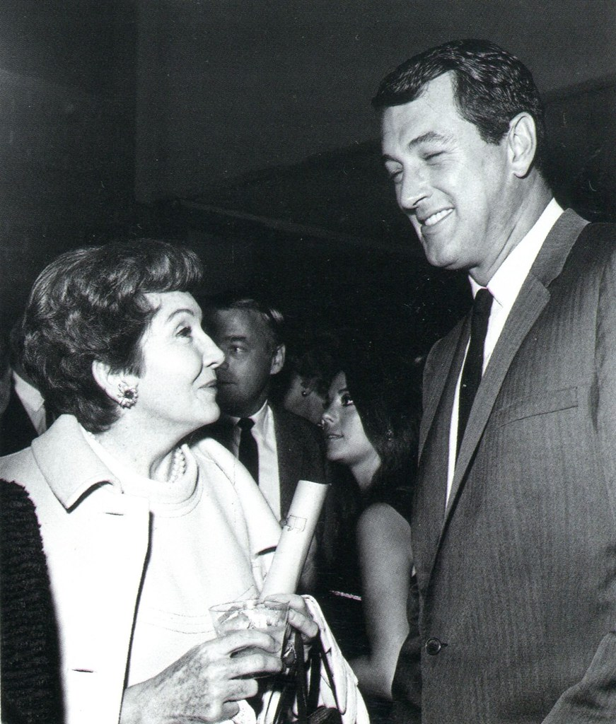 Helen Hayes and Rock Hudson