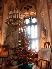 Ein Wintermärchen - Weihnachtsbaum im Schloss