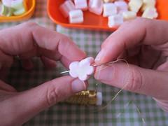 Natal: enfeites de marshmallow