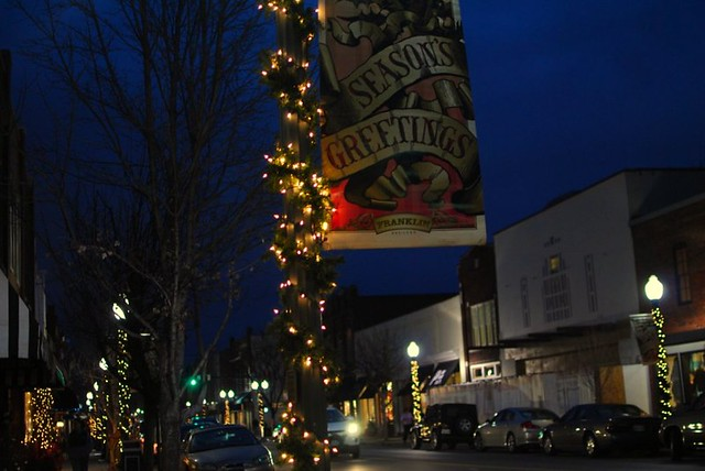 christmas in downtown franklin