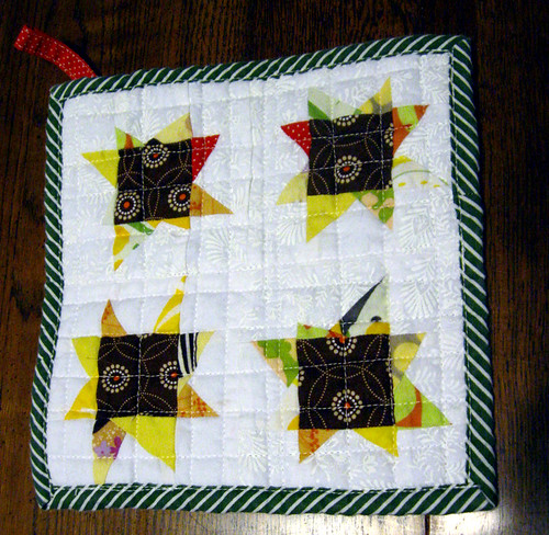 Potholder Week: Wonky Star