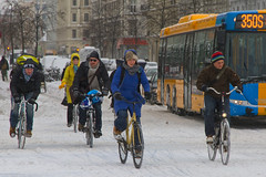Winter Traffic Copenhagen