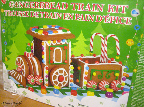 Gingerbread Train - The kit