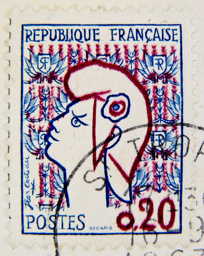 beautiful french stamp Briefmarke France 0,20 timbre Francaise Marianne Frankreich RF Postes francaise postage revenue porto francobolli bollo sello marke marka franco timbres Frankreich Briefmarken