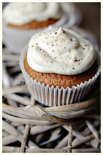Irish Coffee Cupcakes « Kayotic Kitchen