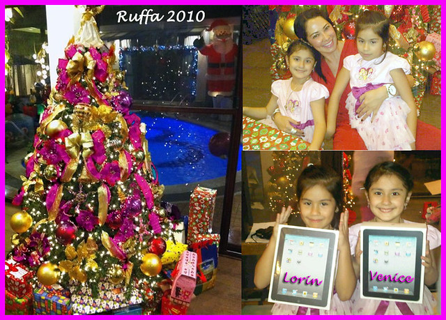 Merry Christmas World - Ruffa, Lorin and Venice by MsRuffa