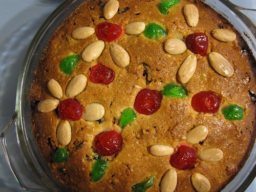 a nutty fruit cake