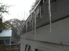 Snow, day after Christmas (Jason Riedy) Tags: snow georgia icicle eastpoint snowpocalypse snowmageddon snomg