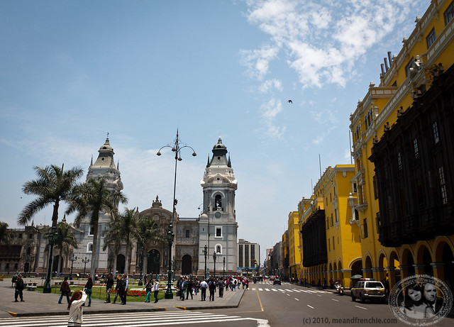 Cathedral De Lima On Plaza Del Bosque