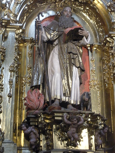 St. Anthony Abbot with his pig